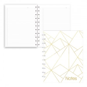 Cahier de notes MiracleBind Collection Or